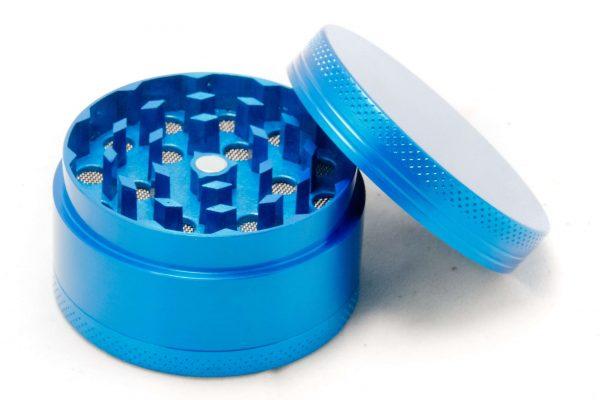גריינדר מתכת כחול