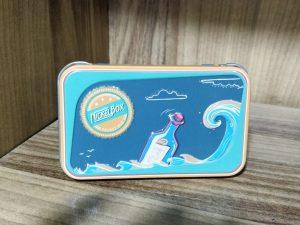 קופסת אחסון - כחול ים