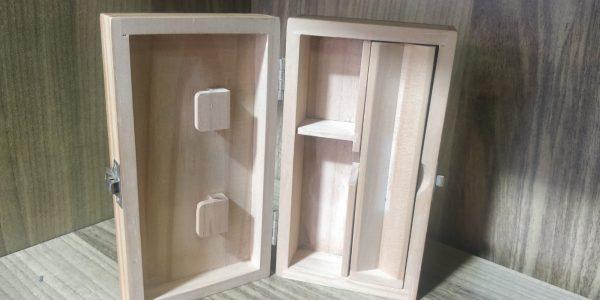 קופסת אחסון מעץ